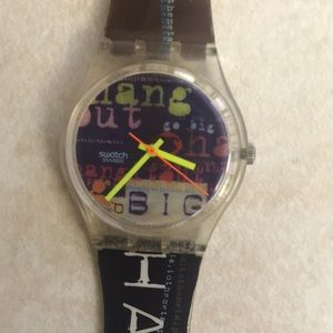Vintage swatch watch.  $150 firm